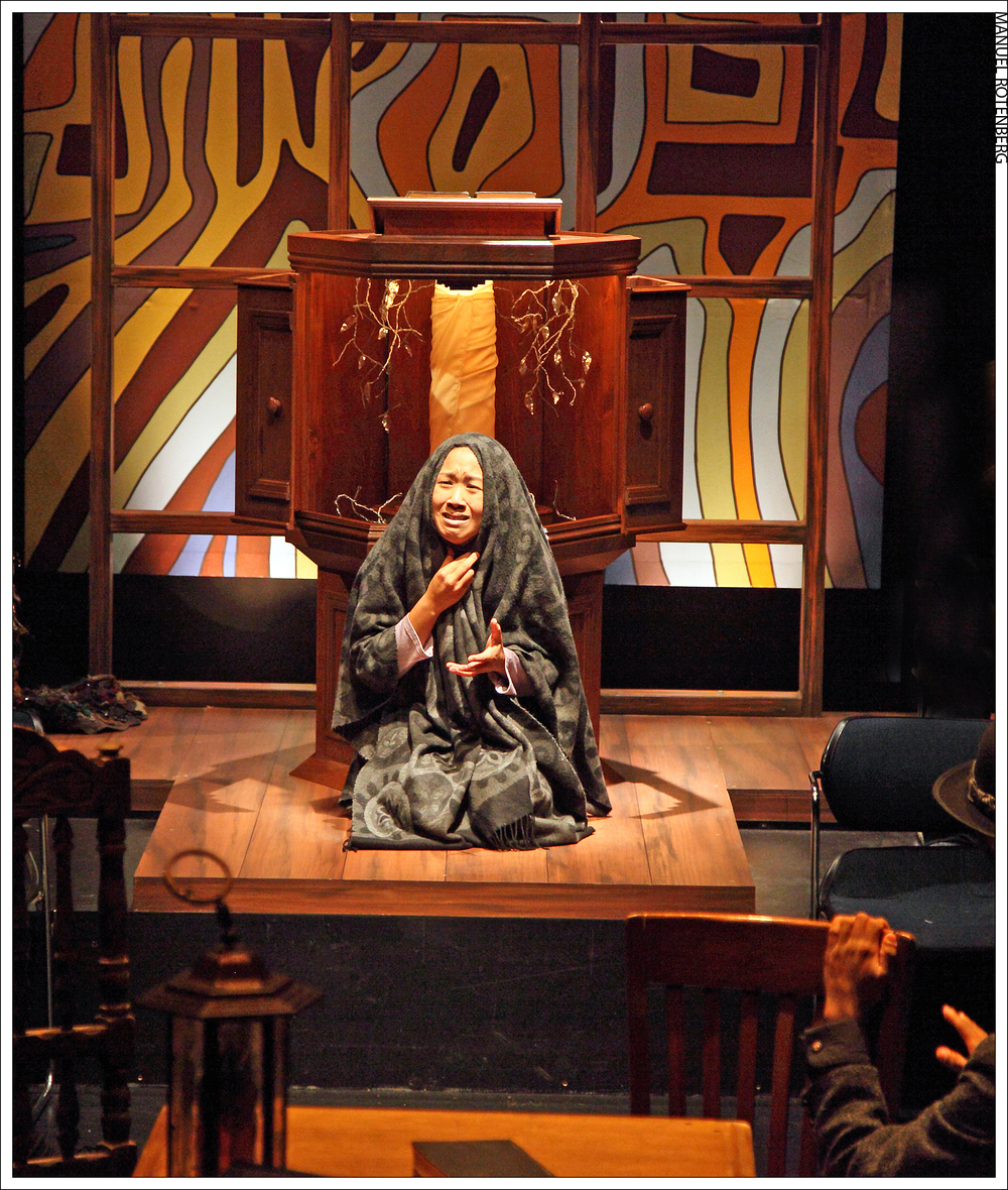 Katharine Chin as The Old Woman in The Dybbuk