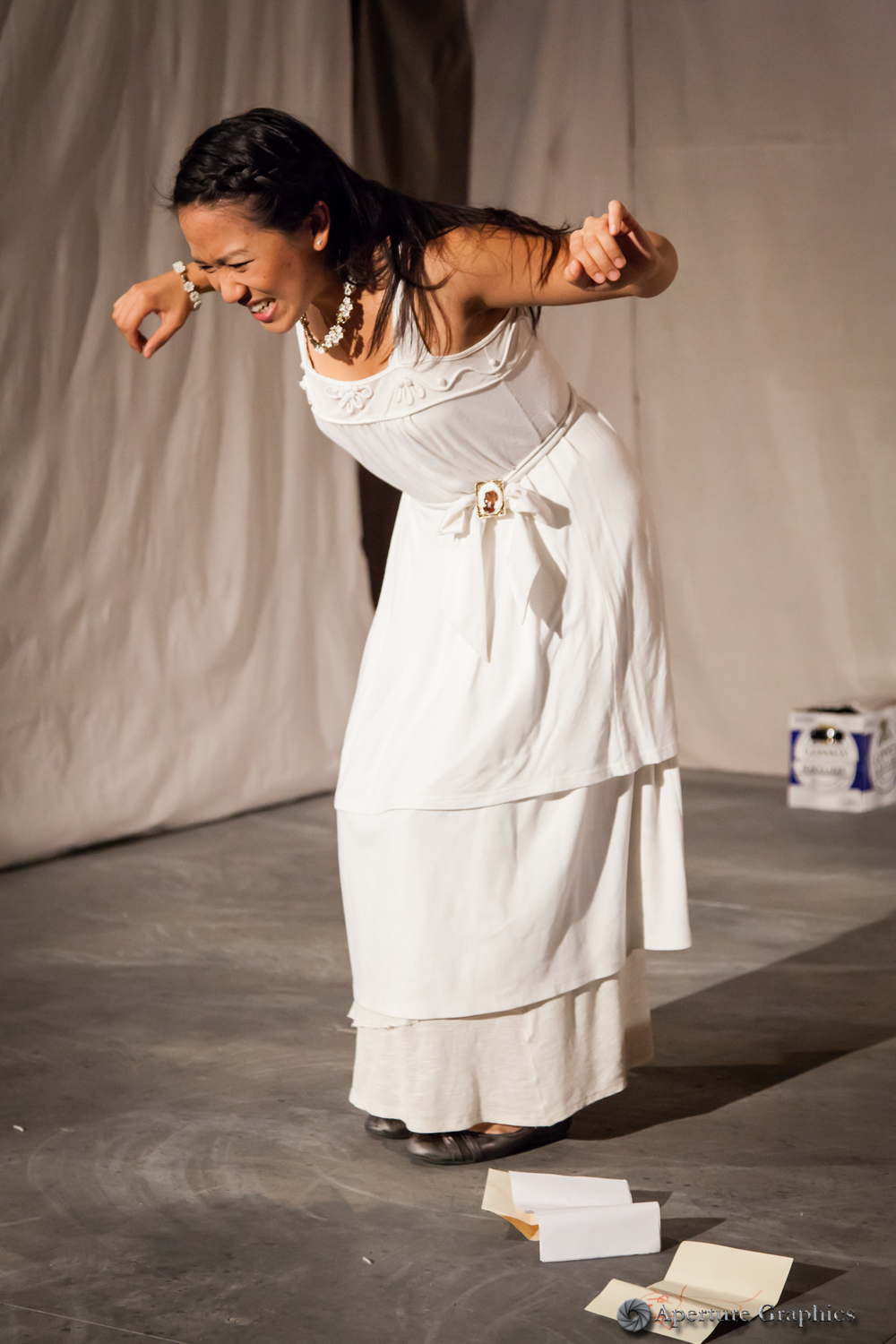 Katharine Chin as Irina in Three Sisters