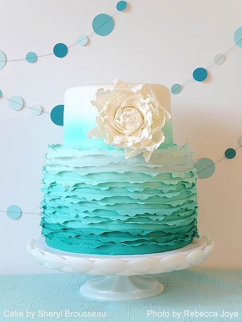 Cake by Sheryl Brousseau | Photo by Rebecca Joy