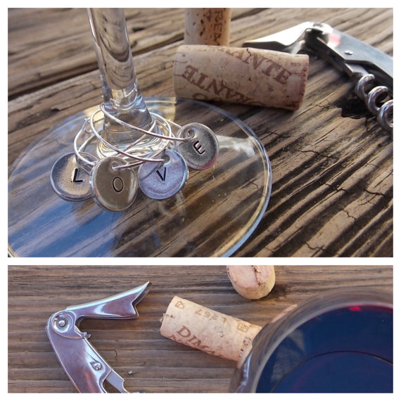 Wine Charms | JoAnna Dee Weddings