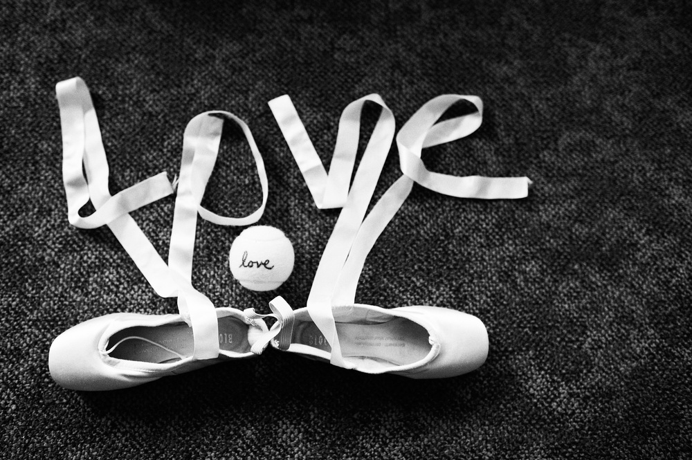 Pointe Shoes Wedding