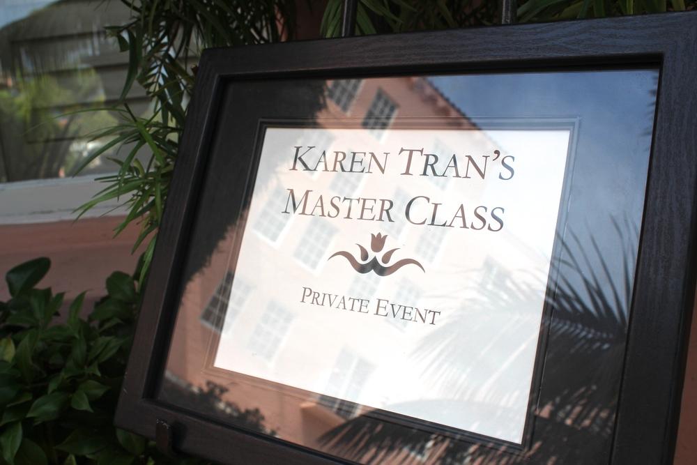 Karen Tran Master Floral Class | JoAnna Dee Weddings