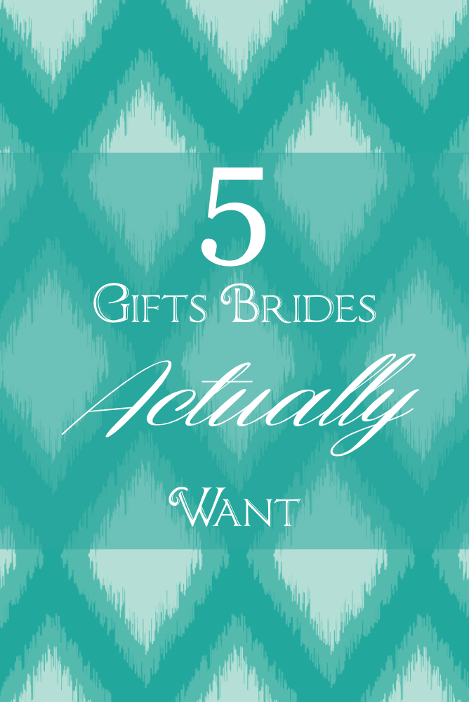 5 Gifts Brides Actually Want | JoAnna Dee Weddings