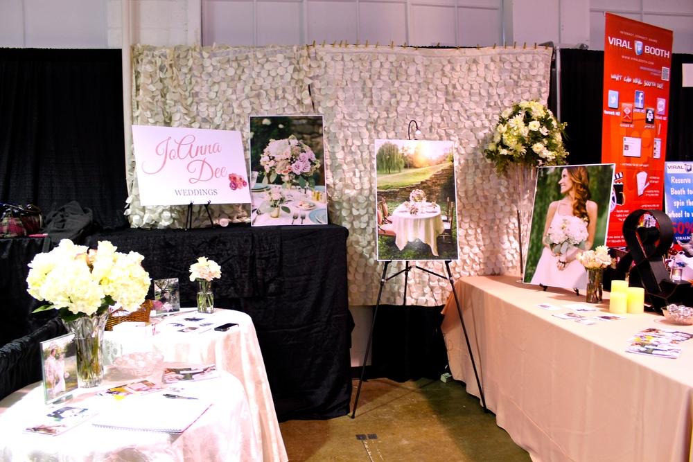 Wedding Planner Bridal Show Booth Ideas : Indianapolis bride expo recap joanna dee weddings