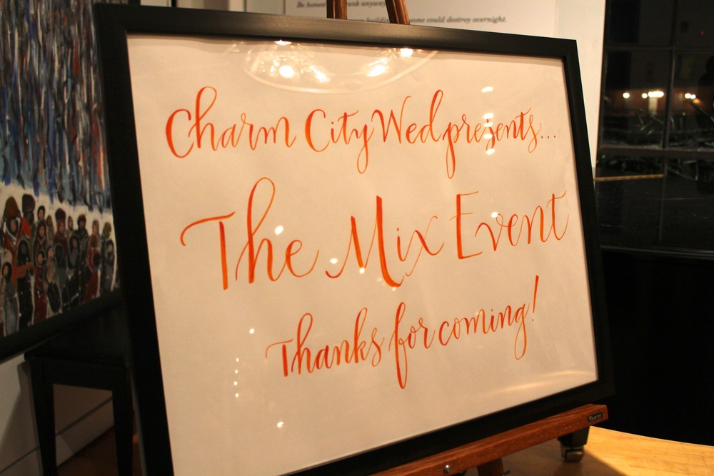 Charm City Wed presents The Mix Event | JoAnna Dee Weddings