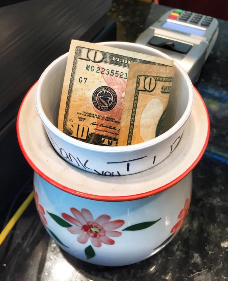 Random Acts of Kindness- Tip Jar