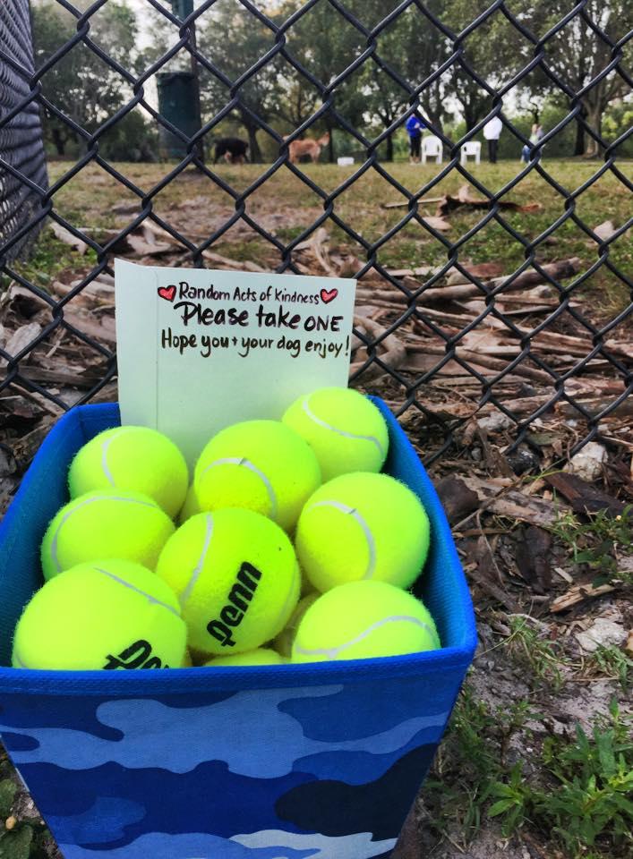 Random Acts of Kindness- Tennis Balls