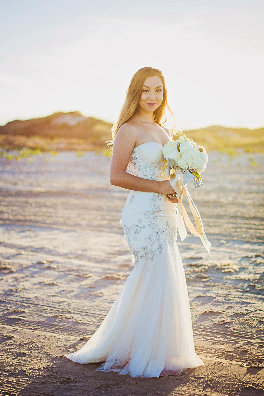 Beach Sunset Wedding | South Padre Island | JoAnna Dee Weddings
