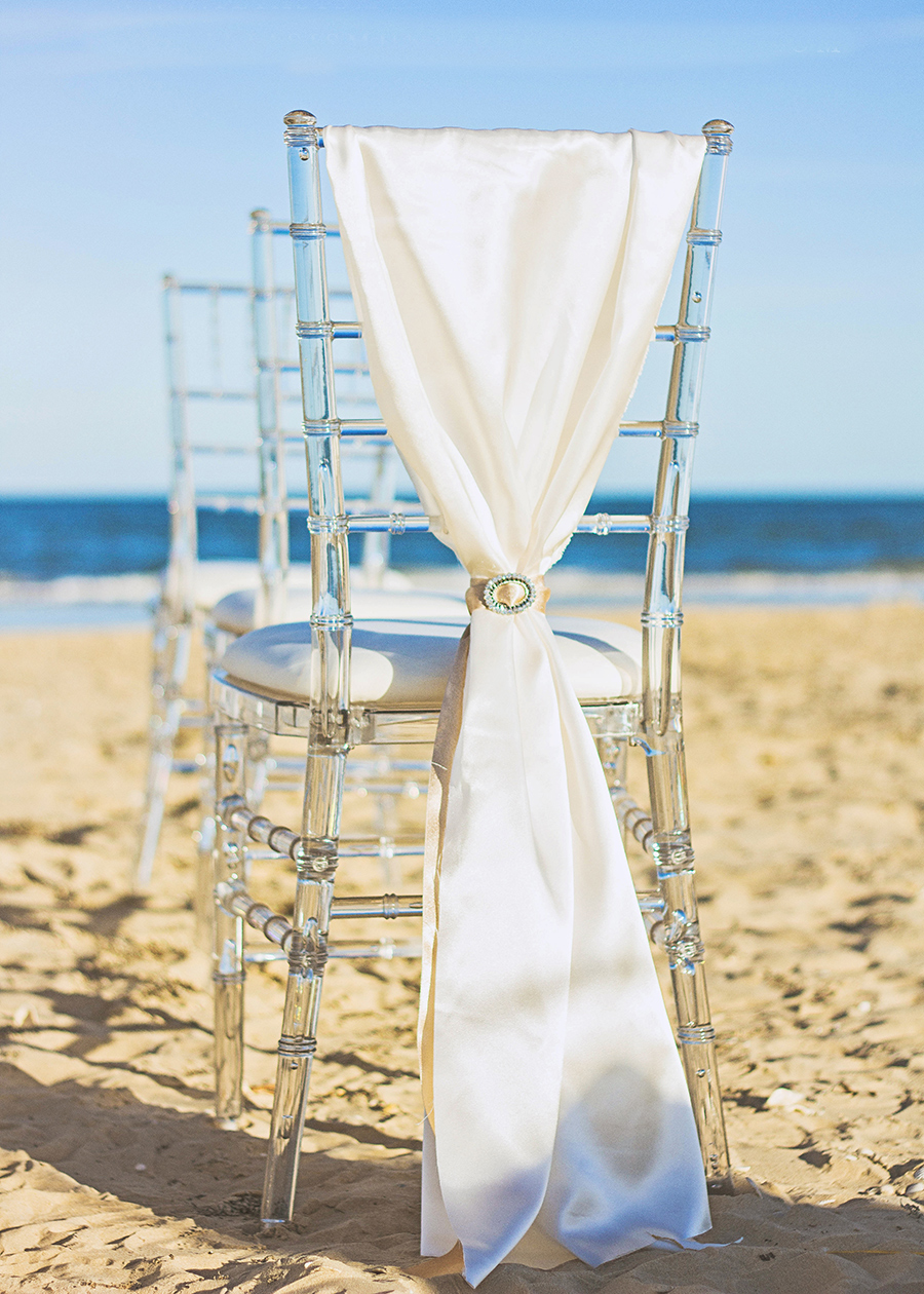 Clear Chiavari Chairs | South Padre Island Wedding | JoAnna Dee Weddings