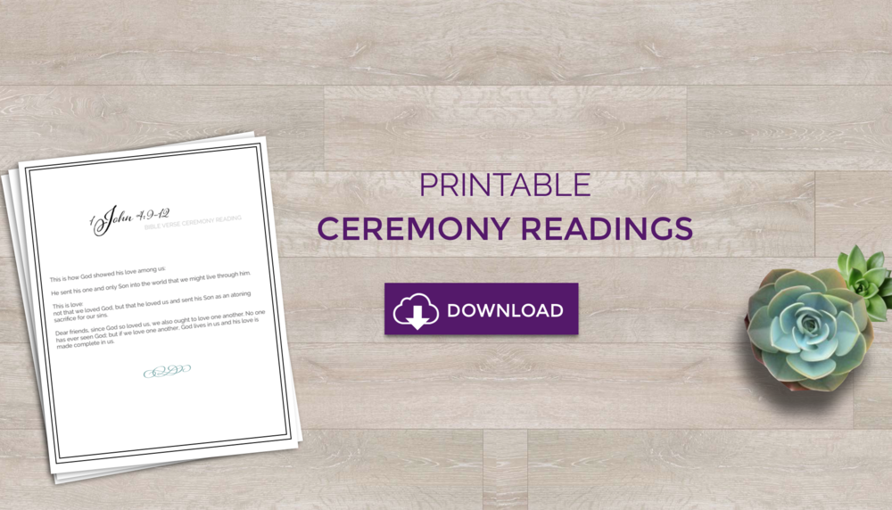 Free Download Ceremony Readings