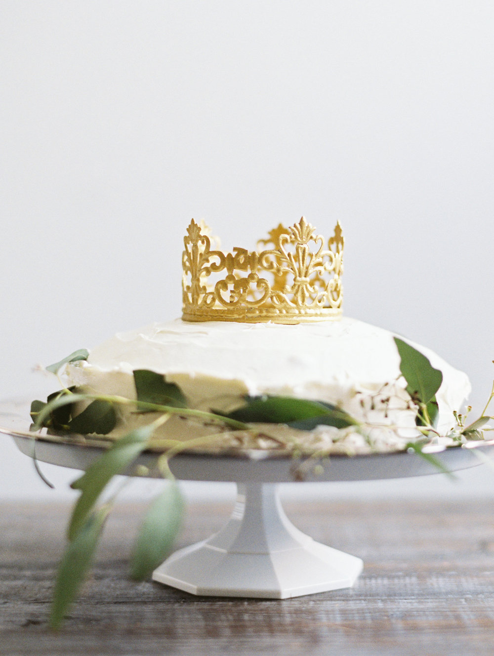 Le Petit Prince Baby Shower - Crown Cake