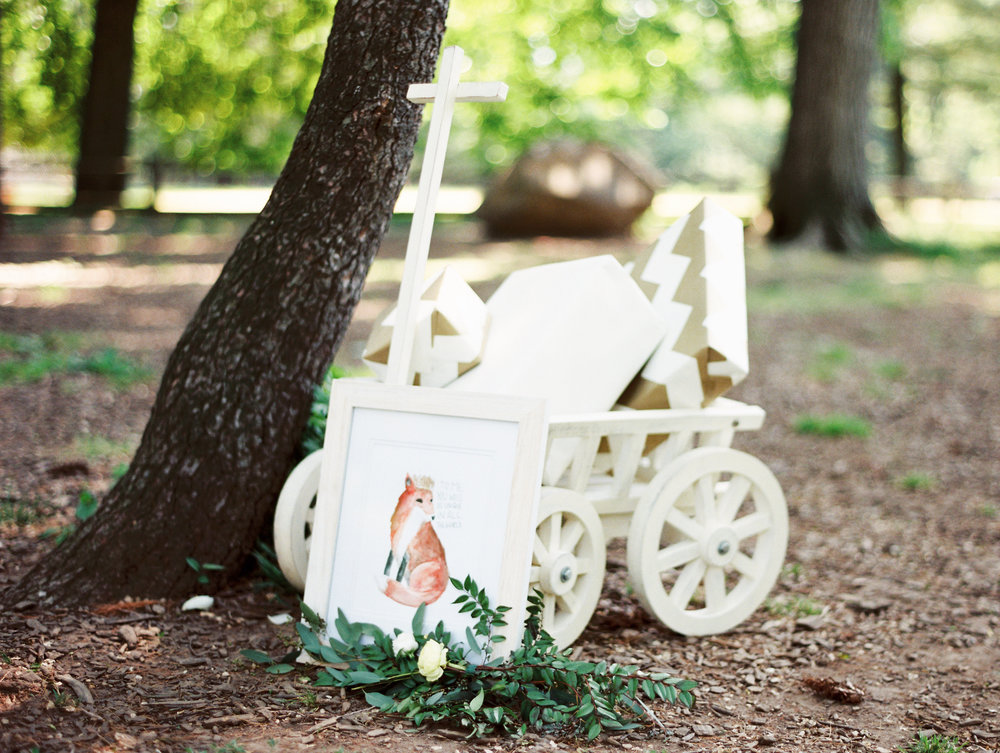 Le Petit Prince Baby Shower - White Wagon