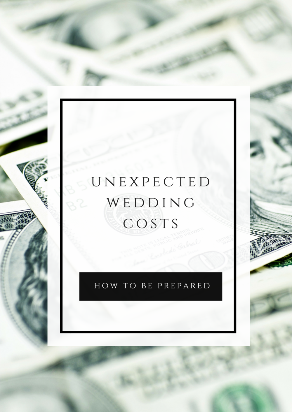 Unexpected Wedding Costs - How to be prepared