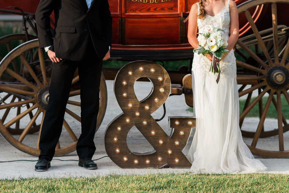 Ampersand Wedding Marquee Light