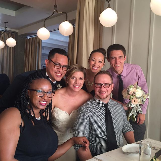 The best kind of friend reunion! ...seriously that lighting though... #happilyeverolaya