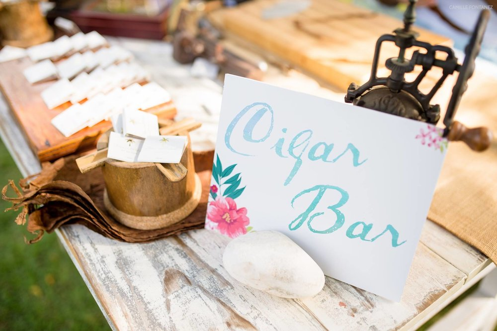 Cigar Bar | Wedding Stationery