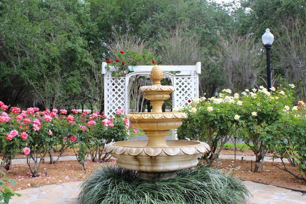 Cypress Grove Estate | Rose Garden