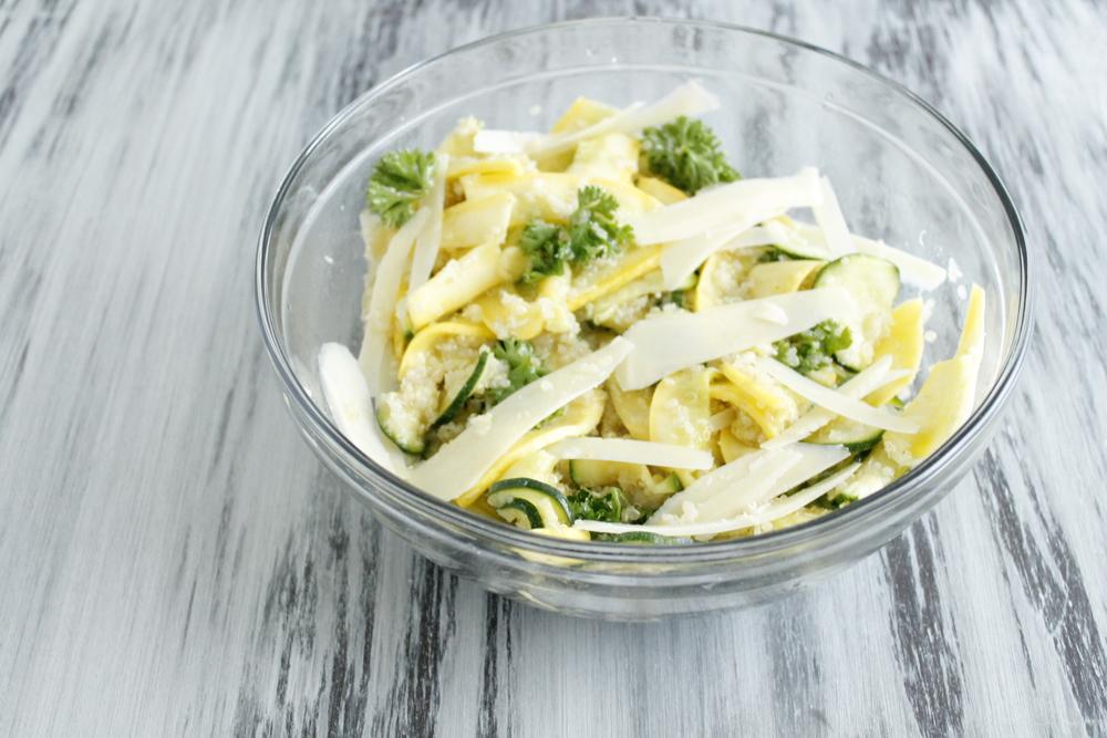 summer squash quinoa salad pedantic foodie
