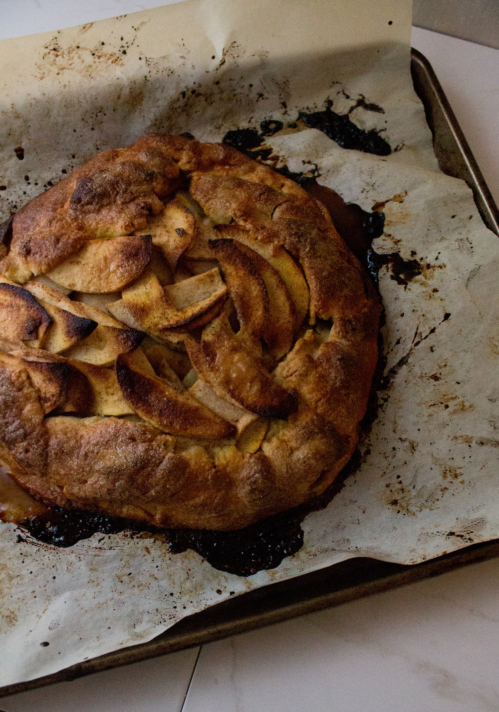 Apple Maple Galette