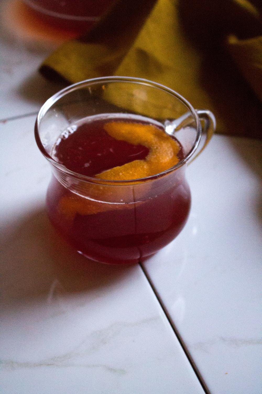 Sparkling Cranberry-Clemintine Cider {Pedantic Foodie}