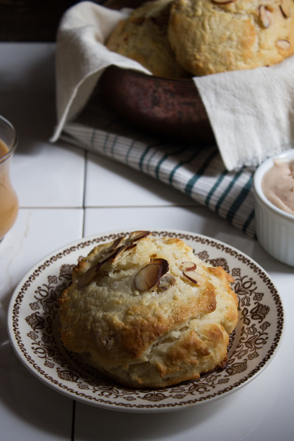 Sweet Buttermilk Biscuits {Pedantic Foodie}