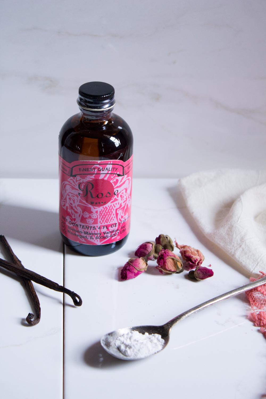 Vanilla Rose Meringues {Pedantic Foodie}