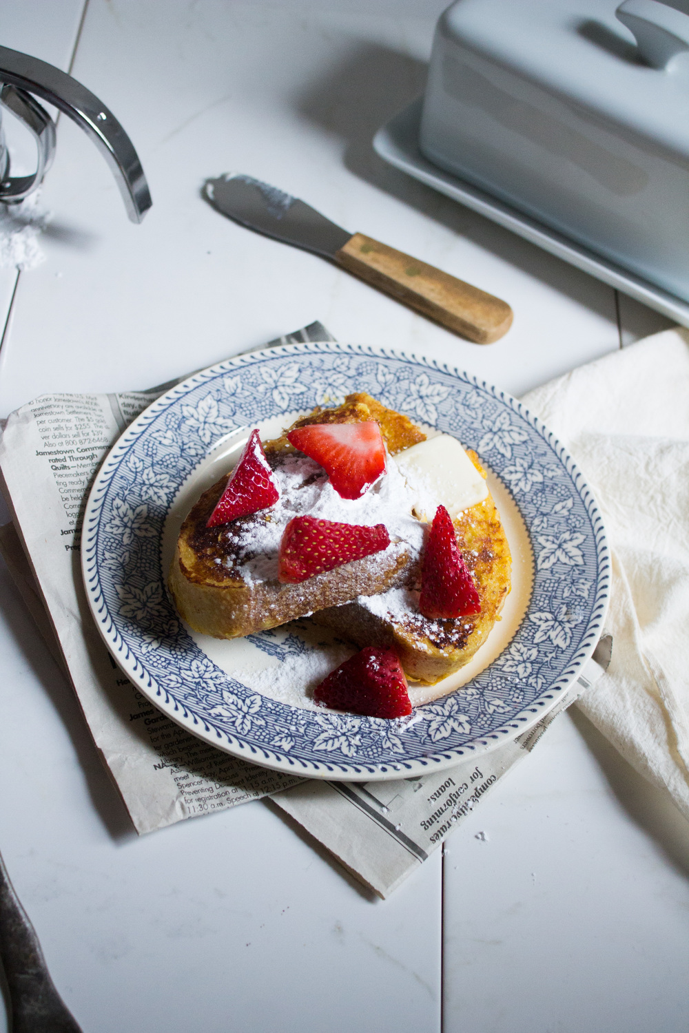 Lemon French Toast {Pedantic Foodie}