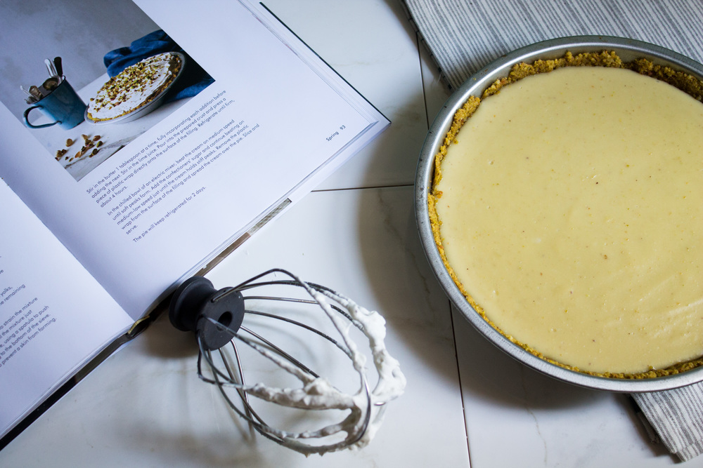 Pistachio Coconut Cream Pie {Pedantic Foodie}