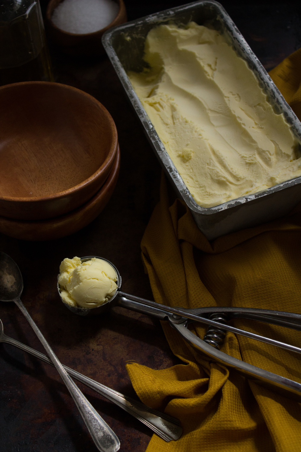 Olive Oil Ice Cream {Pedantic Foodie}