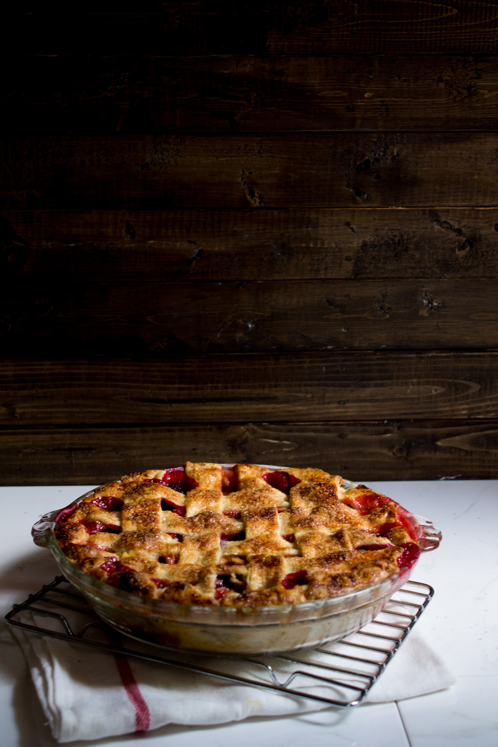 Rhuberry Pie {Pedantic Foodie}