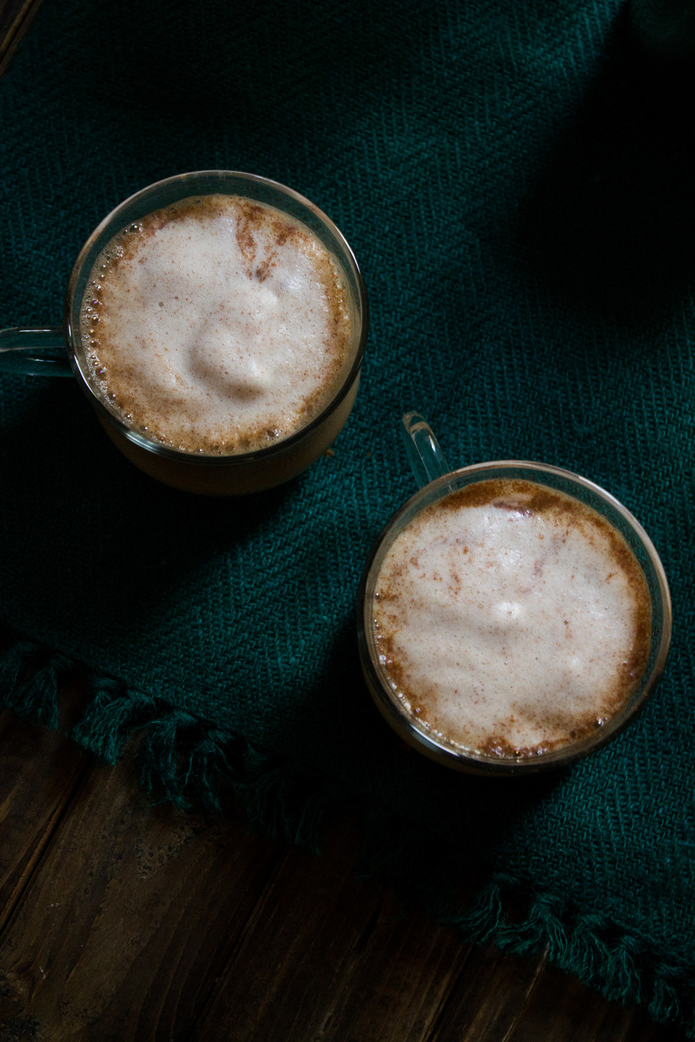 Cinnamon Cafe au Lait {Pedantic Foodie}