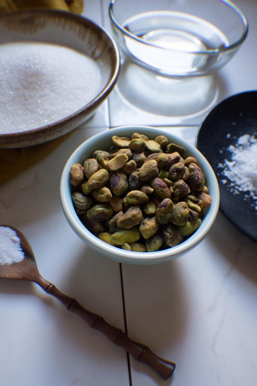 Salted Pistachio Brittle {Pedantic Foodie}