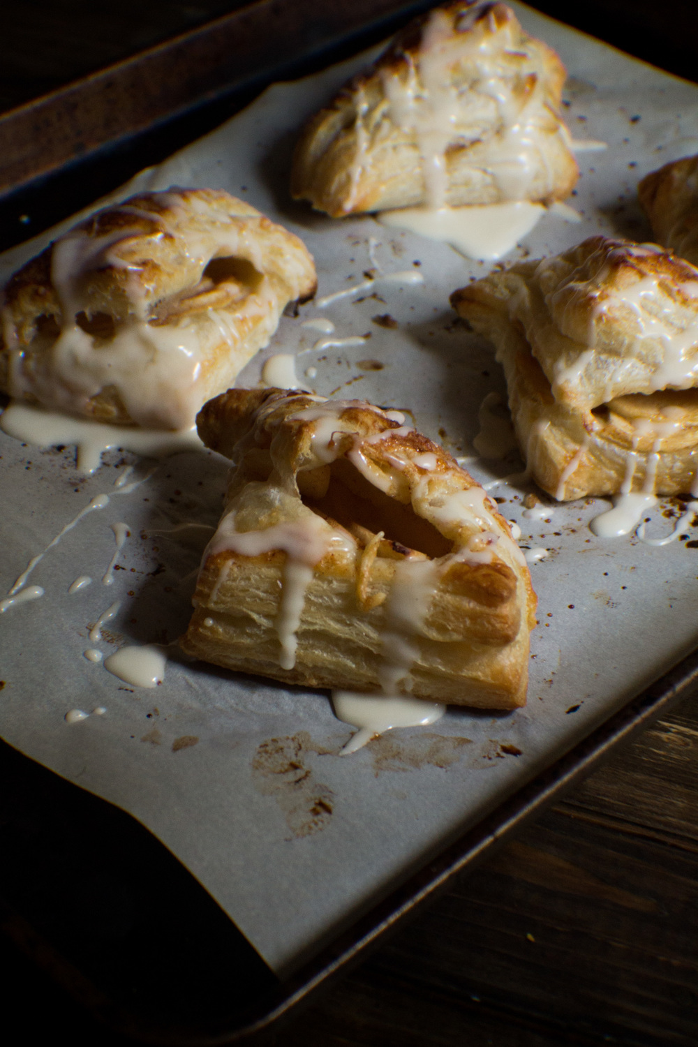 Sweet Cinnamon & Apple Turnovers {Pedantic Foodie}