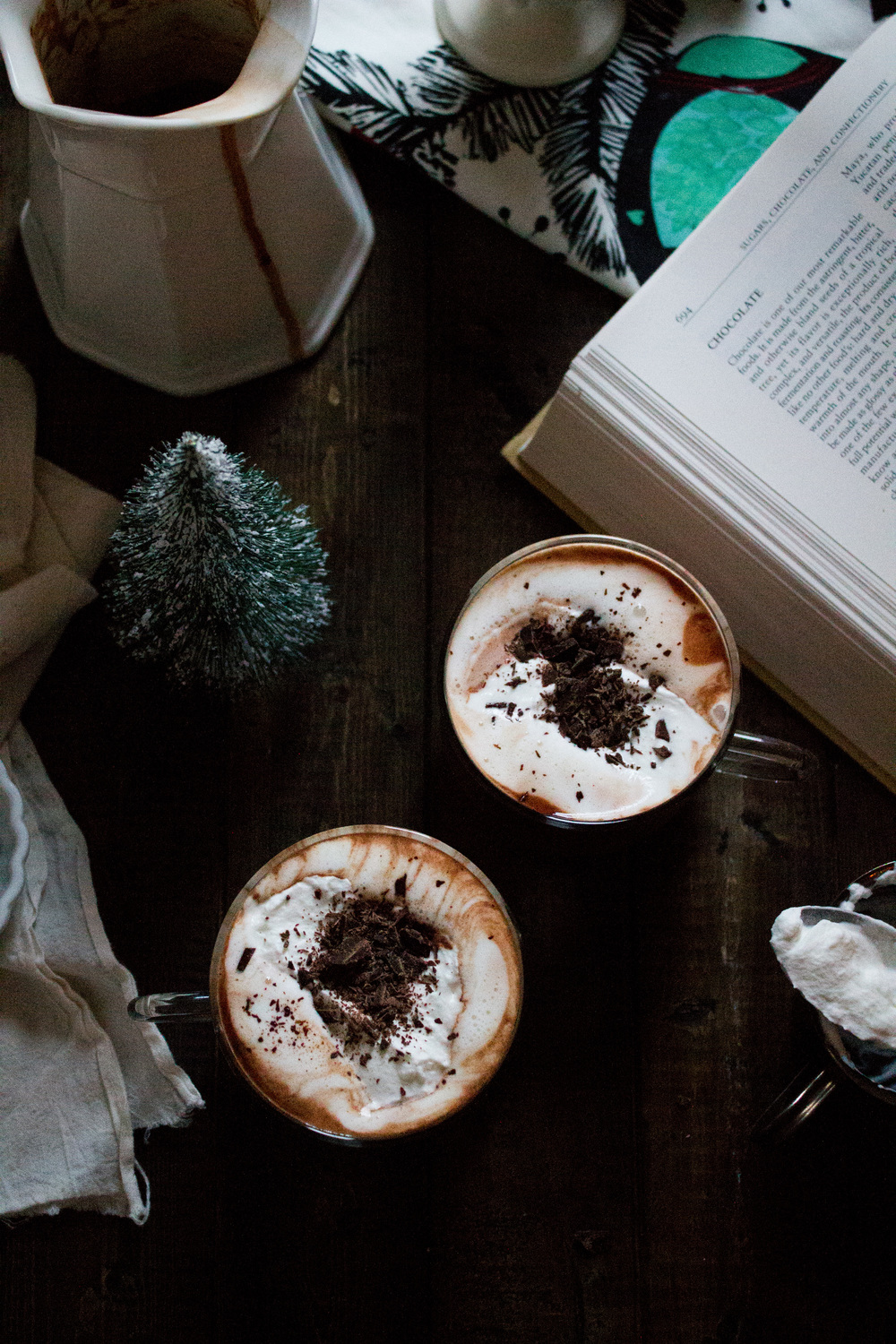 Colonial Spiced Hot Chocolate {Pedantic Foodie}