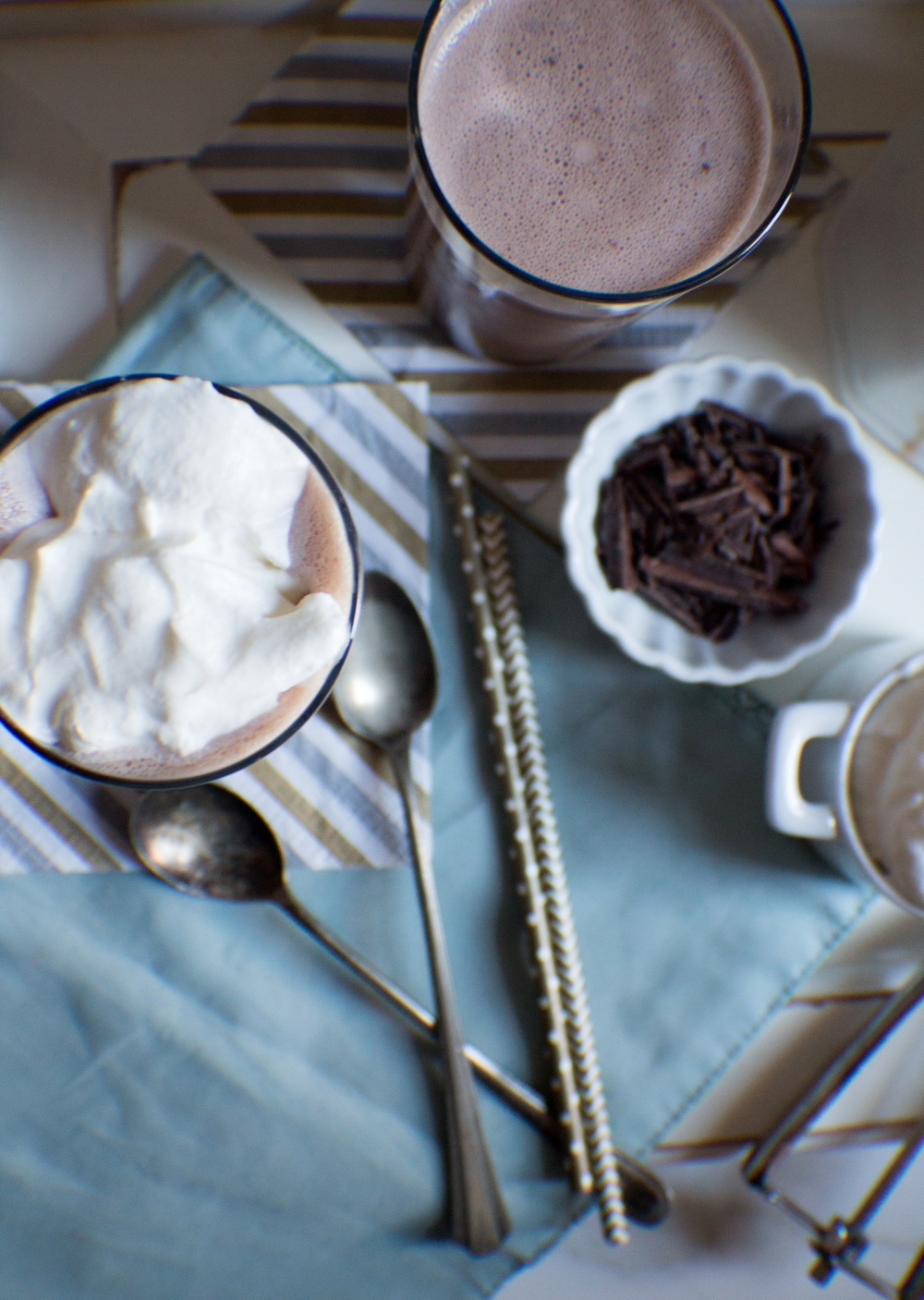 Mint Chocolate Malt {Pedantic Foodie}