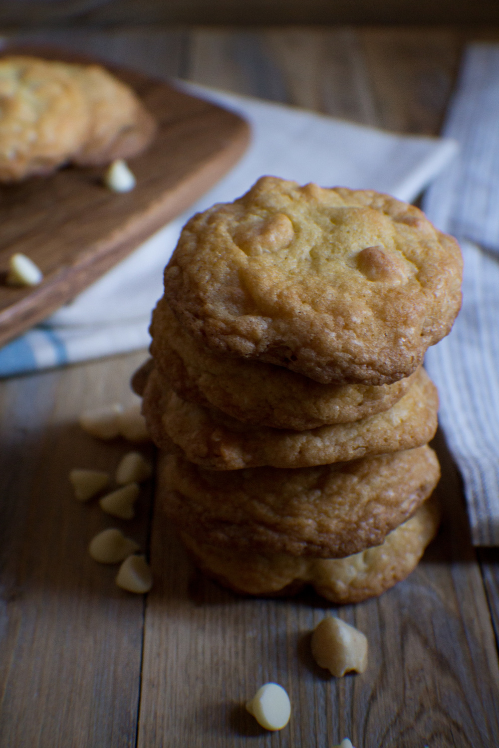 White Chocolate Macadamia Nut Cookies {Pedantic Foodie}