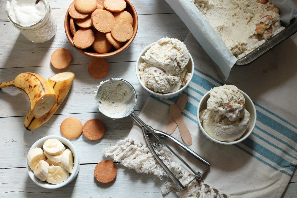 Banana Pudding Ice Cream {Pedantic Foodie}