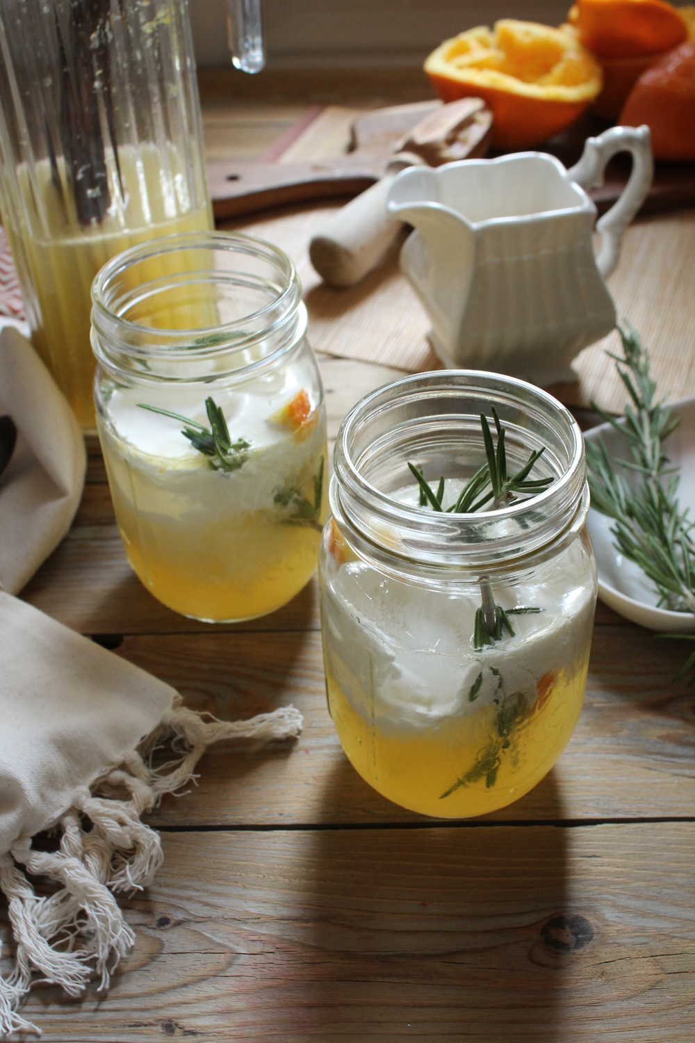 Orange & Rosemary Italian Cream Soda {Pedantic Foodie}