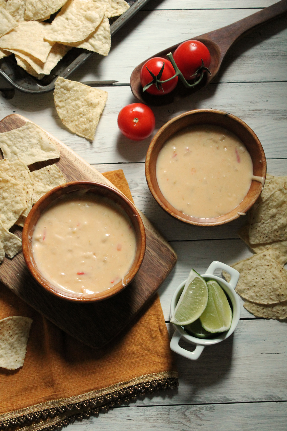 Homemade Queso Dip {Pedantic Foodie}