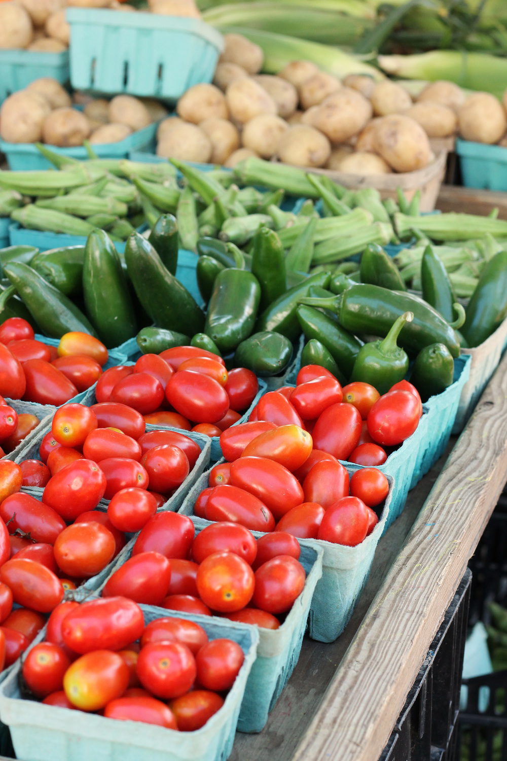 Saturdays at the Farmer's Market {Pedantic Foodie}