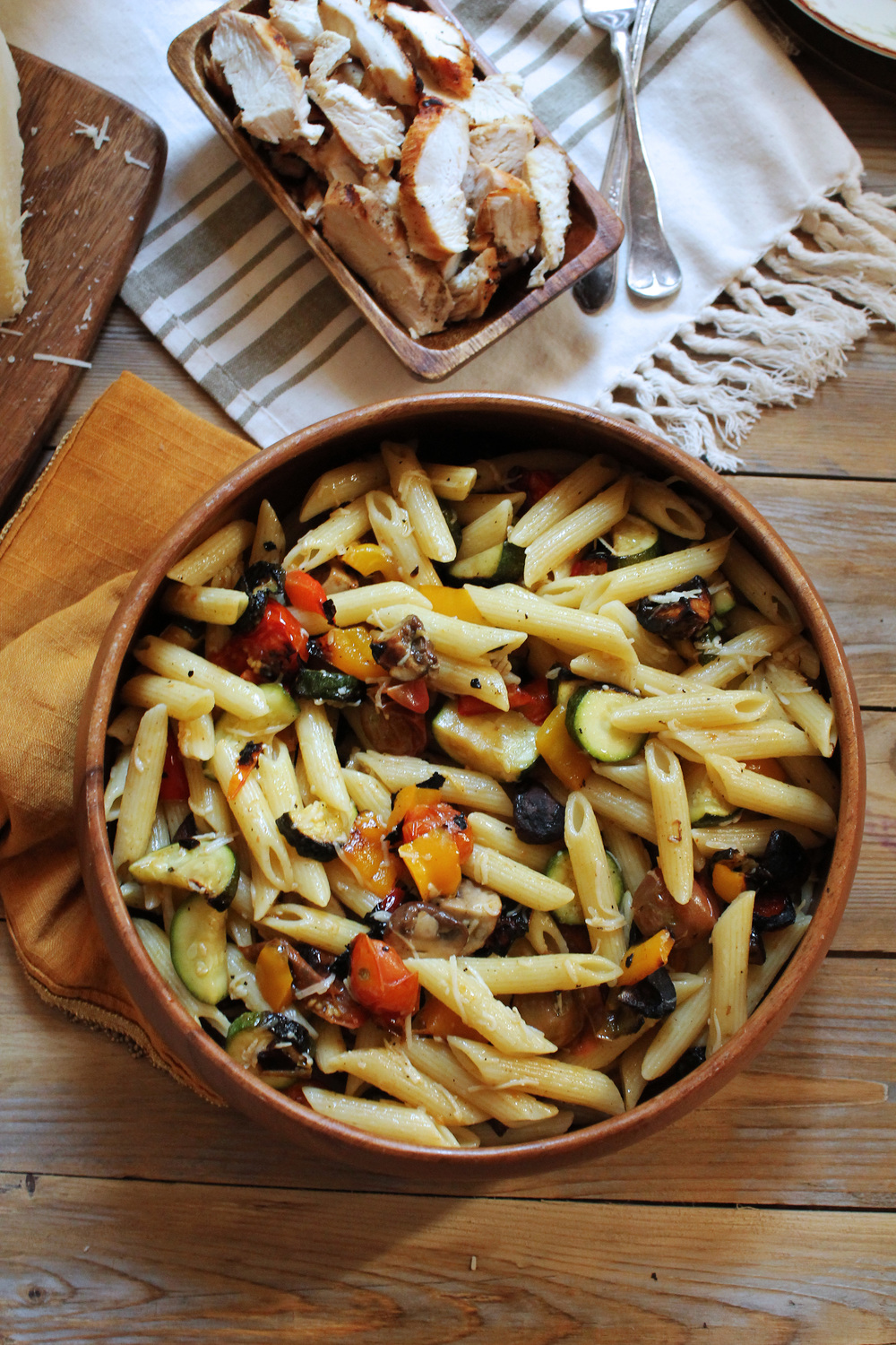 Summer Vegetable Pasta {Pedantic Foodie}