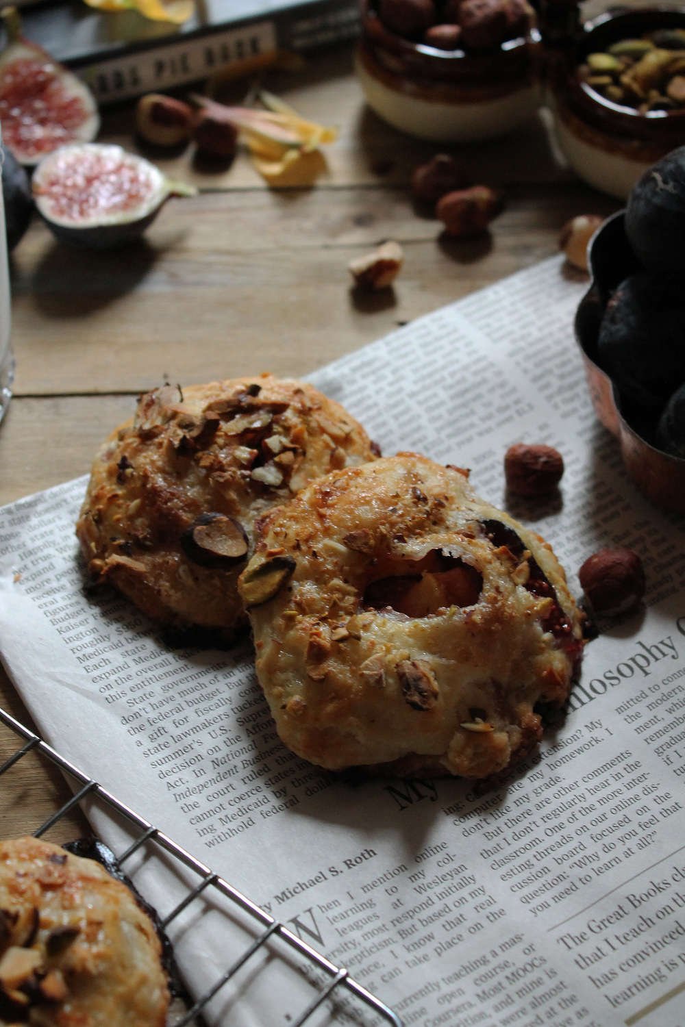 Fig & Nectarine Hand Pies {Pedantic Foodie}