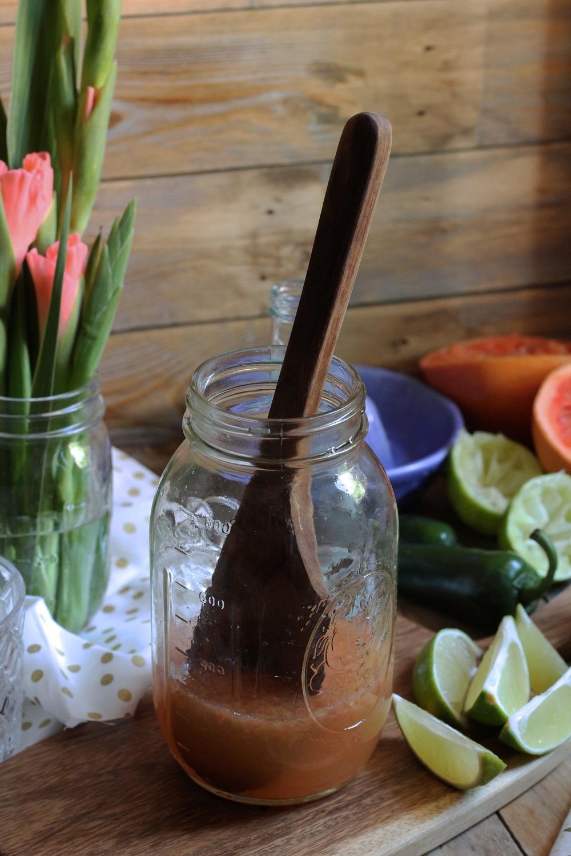 Grapefruit & Jalapeño Spritzer {Pedantic Foodie}
