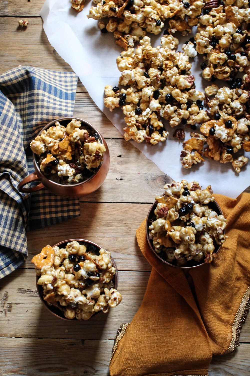 Autumn Caramel Corn {Pedantic Foodie}
