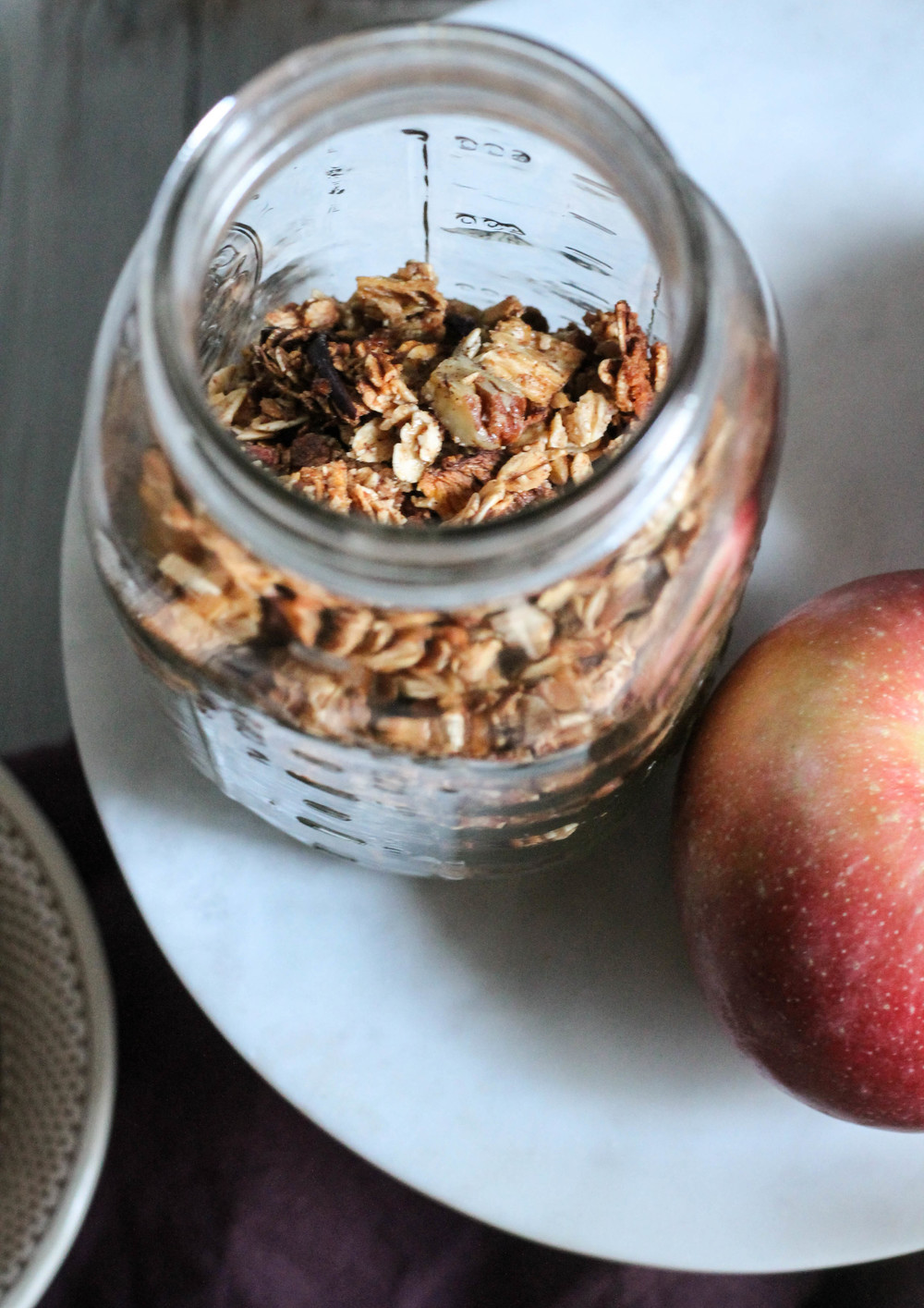 Apple + Oat Cereal {Pedantic Foodie}