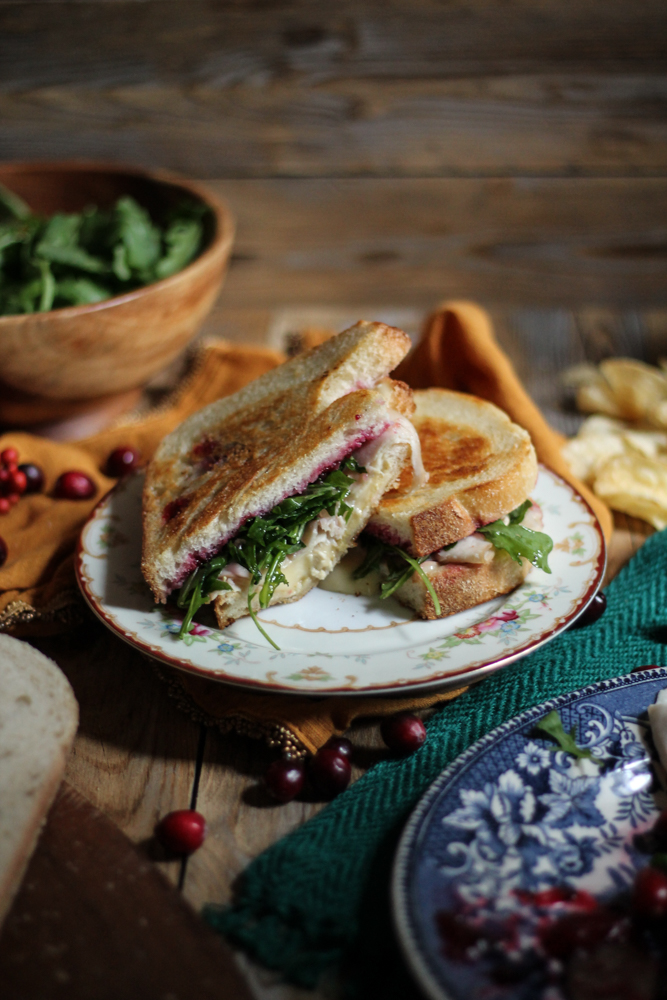 Thanksgiving Sandwich {Pedantic Foodie}