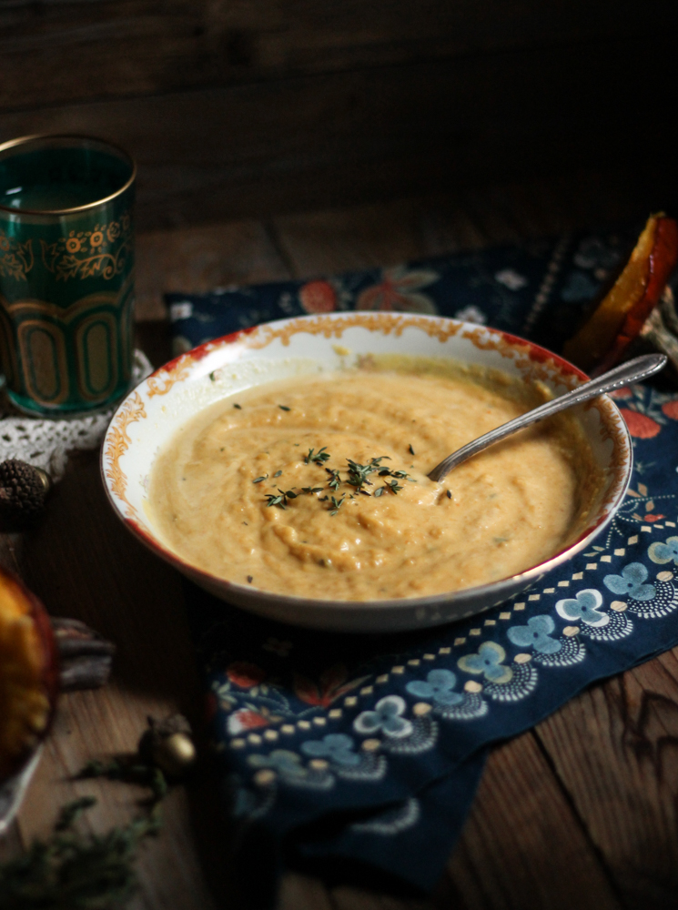 Roasted Pumpkin Soup {Pedantic Foodie}