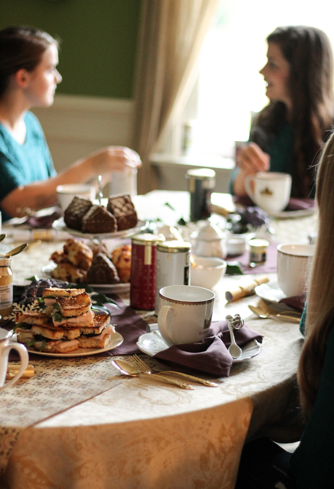 An Afternoon At Downton Abbey {Pedantic Foodie + World Market}