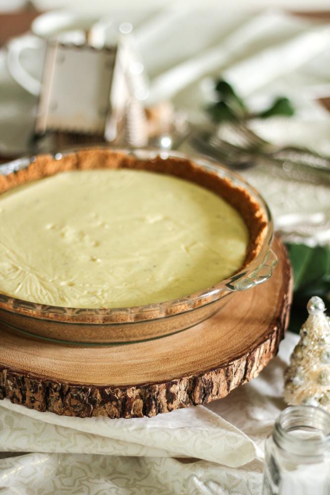 Eggnog Custard Pie {Pedantic Foodie}