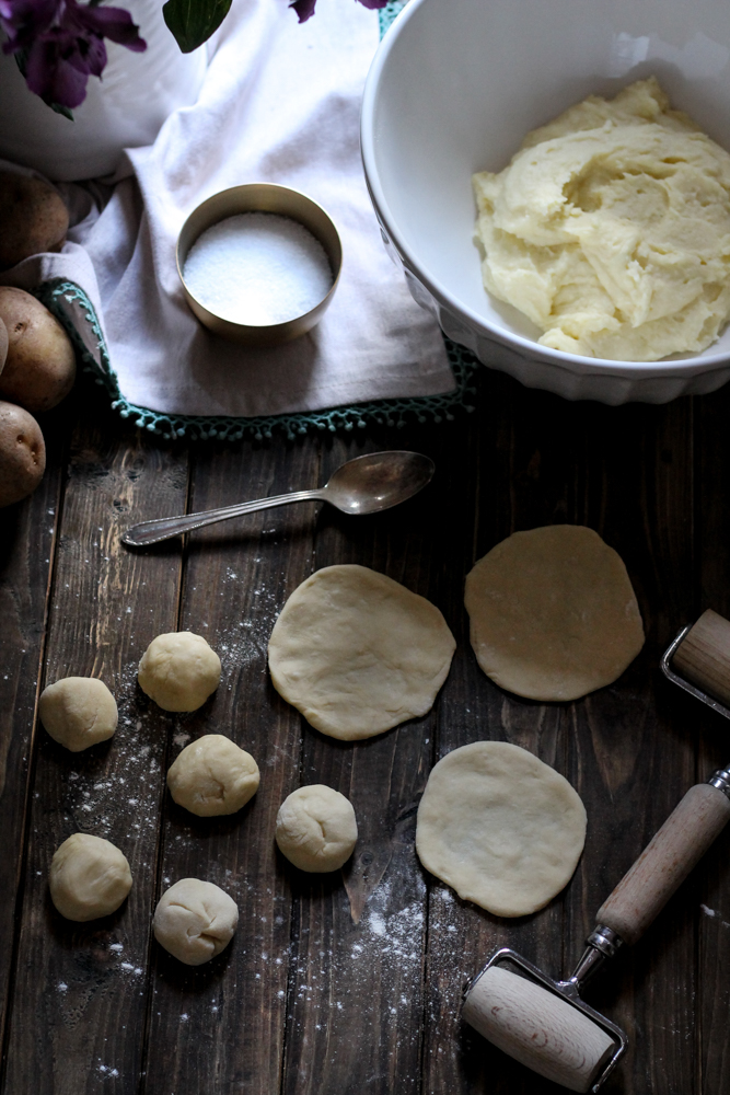 A Challenge to Self - Pierogies {Pedantic Foodie}